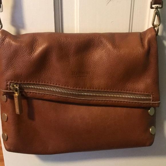 7292f0426 Hammitt Bags | Vip Fold Over Crossbody Bag Dark Tan | Poshmark
